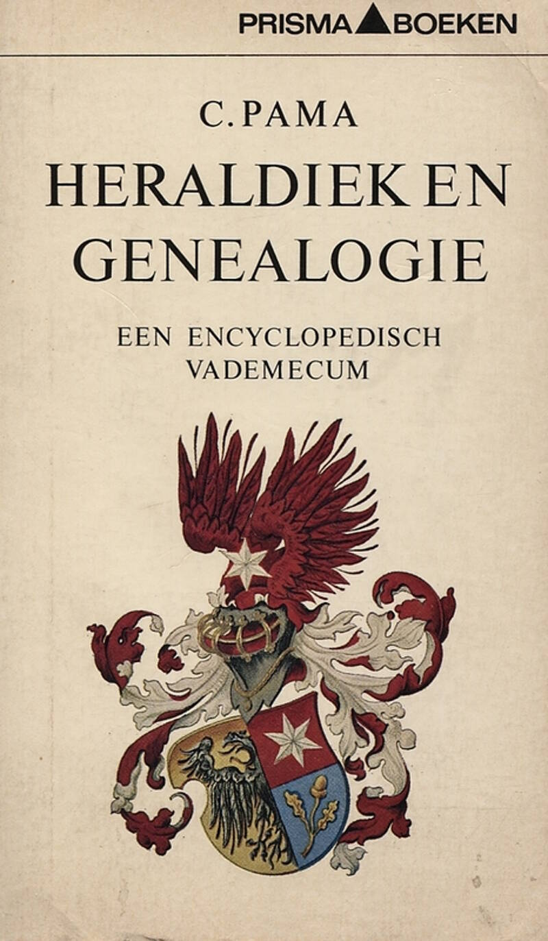 Boekomslag Heraldiek en Genealogie, een encyclopedisch vademecum